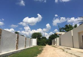 Foto de terreno habitacional en venta en cedro , la guadalupana, mérida, yucatán, 17963435 No. 01