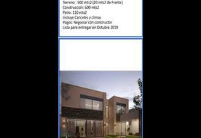 Foto de casa en venta en cerrada , del valle sector fátima, san pedro garza garcía, nuevo león, 10261939 No. 01
