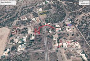 Foto de terreno habitacional en venta en cerrada pedregal 9, hacienda residencial condominal, hermosillo, sonora, 17668420 No. 01