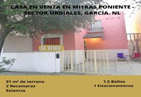 Foto de casa en venta en cerro la silla , centro villa de garcia (casco), garcía, nuevo león, 0 No. 01
