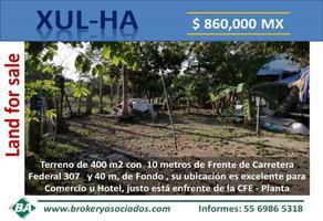 Foto de terreno comercial en venta en cfe - planta , xul-ha, othón p. blanco, quintana roo, 0 No. 01