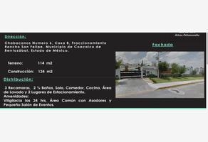 Foto de casa en venta en chabacanos 6, ex-rancho san felipe, coacalco de berriozábal, méxico, 8234465 No. 01