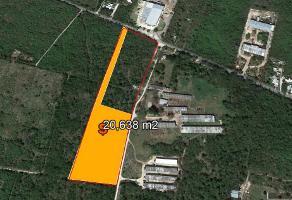 Foto de terreno industrial en venta en chablekal-conkal , conkal, conkal, yucatán, 5356853 No. 01
