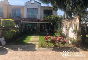 Foto de casa en venta en  , chamilpa, cuernavaca, morelos, 0 No. 01