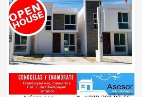 Foto de casa en venta en chanpoayan esquina casuarinas 504, jardines de champayan 1, tampico, tamaulipas, 11911604 No. 01