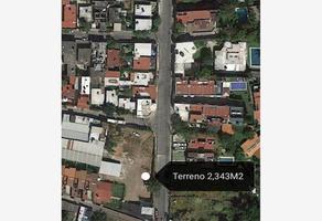 Foto de terreno habitacional en venta en  , chapultepec, cuernavaca, morelos, 12775156 No. 01