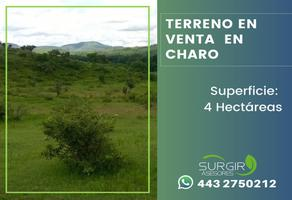 Foto de terreno habitacional en venta en  , charo, charo, michoacán de ocampo, 13309467 No. 01