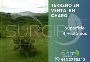 Foto de terreno habitacional en venta en  , charo, charo, michoacán de ocampo, 6479508 No. 01