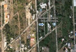 Foto de terreno habitacional en venta en  , chichi suárez, mérida, yucatán, 14109422 No. 01