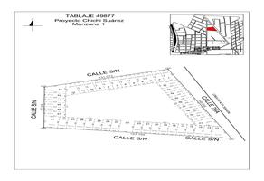 Foto de terreno habitacional en venta en  , chichi suárez, mérida, yucatán, 19133568 No. 01