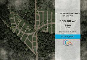 Foto de terreno habitacional en venta en chicxulub 1, chicxulub, chicxulub pueblo, yucatán, 0 No. 01