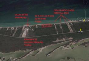Foto de terreno habitacional en venta en  , chicxulub puerto, progreso, yucatán, 6986844 No. 01