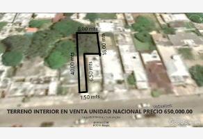 Foto de terreno habitacional en venta en chihuahua 119, unidad nacional, ciudad madero, tamaulipas, 0 No. 01