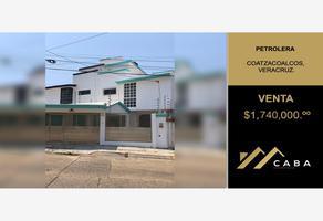 Foto de casa en venta en chihuahua 400 a, petrolera, coatzacoalcos, veracruz de ignacio de la llave, 0 No. 01
