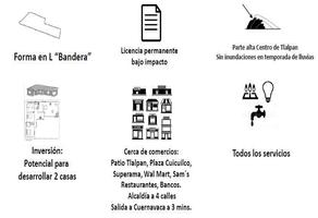 Foto de terreno habitacional en venta en chilapa , tlalpan centro, tlalpan, df / cdmx, 0 No. 01