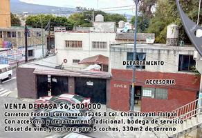 Foto de casa en venta en  , chimalcoyotl, tlalpan, df / cdmx, 11542177 No. 01