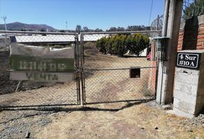 Foto de terreno habitacional en venta en  , chipilo de francisco javier mina, san gregorio atzompa, puebla, 19295490 No. 01