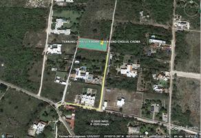 Foto de terreno habitacional en venta en cholul , cholul, mérida, yucatán, 0 No. 01