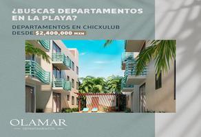 Foto de departamento en venta en  , chuburna puerto, progreso, yucatán, 20089911 No. 01