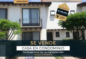 Foto de casa en venta en circuito amado nervo , praderas de la hacienda, celaya, guanajuato, 0 No. 01