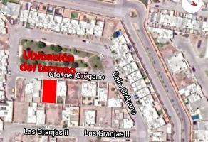 Foto de terreno habitacional en venta en circuito del oregano #156 , las granjas, gómez palacio, durango, 15147458 No. 01