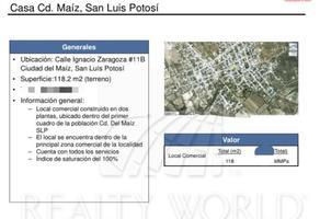 Foto de local en venta en  , ciudad del maíz centro, ciudad del maíz, san luis potosí, 16961465 No. 01