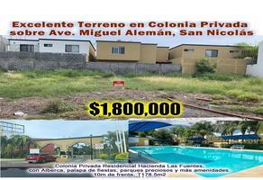 Foto de terreno habitacional en venta en  , ciudad guadalupe centro, guadalupe, nuevo león, 17844747 No. 01
