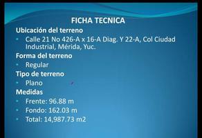 Foto de terreno habitacional en renta en  , ciudad industrial, mérida, yucatán, 14278590 No. 01