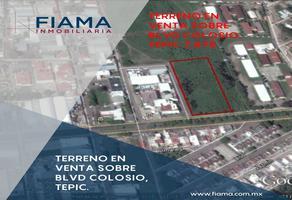 Foto de terreno habitacional en venta en  , ciudad industrial microindustria, tepic, nayarit, 13988176 No. 01
