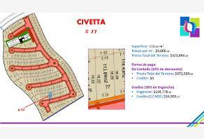 Foto de terreno habitacional en venta en civetta 77, ciudad del sol, querétaro, querétaro, 0 No. 01