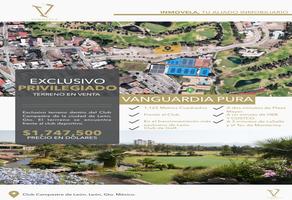 Foto de terreno habitacional en venta en  , club campestre, león, guanajuato, 18479391 No. 01