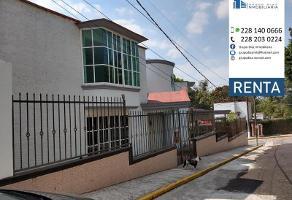 Foto de casa en renta en  , coapexpan, xalapa, veracruz de ignacio de la llave, 0 No. 01