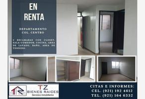 Foto de departamento en renta en  , coatzacoalcos centro, coatzacoalcos, veracruz de ignacio de la llave, 7555229 No. 01