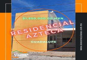 Foto de casa en venta en cocula , residencial azteca, guadalupe, nuevo león, 0 No. 01