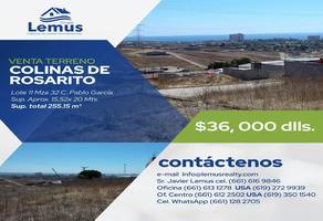 Foto de terreno habitacional en venta en  , colinas de rosarito 1a. sección, playas de rosarito, baja california, 11762635 No. 01