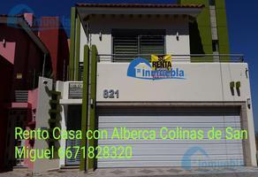 Foto de casa en renta en  , colinas de san miguel, culiacán, sinaloa, 9197810 No. 01