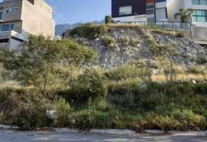Foto de terreno habitacional en venta en  , colinas de valle verde, monterrey, nuevo león, 14568390 No. 01