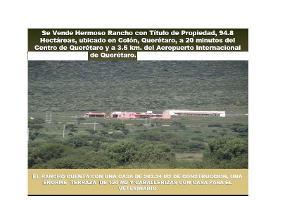 Foto de rancho en venta en  , colón centro, colón, querétaro, 13962949 No. 01