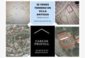 Foto de terreno habitacional en venta en conde de peñasco 9 d, villantigua, san luis potosí, san luis potosí, 0 No. 01
