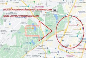 Foto de terreno habitacional en venta en condesa , condesa, cuauhtémoc, df / cdmx, 19144316 No. 01