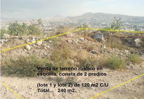 Foto de terreno habitacional en venta en cóndor , san sebastián chimalpa, la paz, méxico, 19058155 No. 01