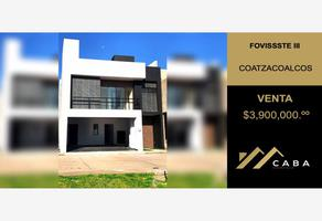 Foto de casa en venta en conocida 1, fovissste iii, coatzacoalcos, veracruz de ignacio de la llave, 0 No. 01