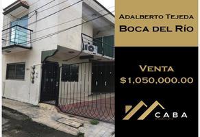 Foto de casa en venta en conocida , adalberto tejeda, boca del río, veracruz de ignacio de la llave, 0 No. 01
