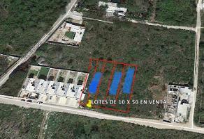 Foto de terreno industrial en venta en conocida , cholul, mérida, yucatán, 9078035 No. 01