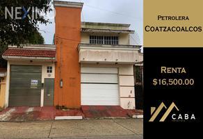 Foto de casa en renta en conocida , petrolera, coatzacoalcos, veracruz de ignacio de la llave, 0 No. 01