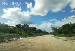 Foto de terreno industrial en venta en conocida , tulum centro, tulum, quintana roo, 15883644 No. 01