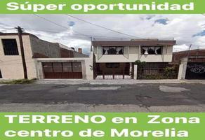 Foto de terreno habitacional en venta en constituyentes 325, morelia centro, morelia, michoacán de ocampo, 0 No. 01