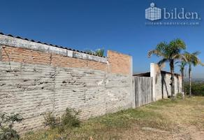 Foto de rancho en venta en contreras 100, contreras, durango, durango, 12790269 No. 01