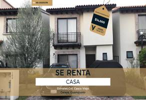 Foto de casa en renta en corrales , praderas de la hacienda, celaya, guanajuato, 18224164 No. 01