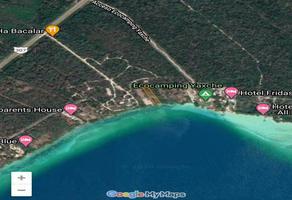 Foto de terreno comercial en venta en costera , bacalar, bacalar, quintana roo, 17072057 No. 01